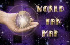 Adrian Paul World Fan Map