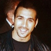 Adrian Paul in leather